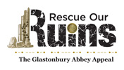 Glastonbury Rescue our ruins chocolates