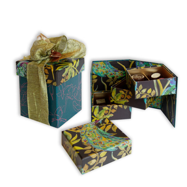 3 tiered Chocolate box by Gilbert and Swayne