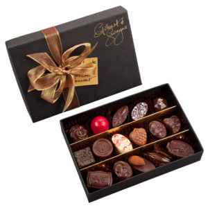 medium box of handmade chocolates