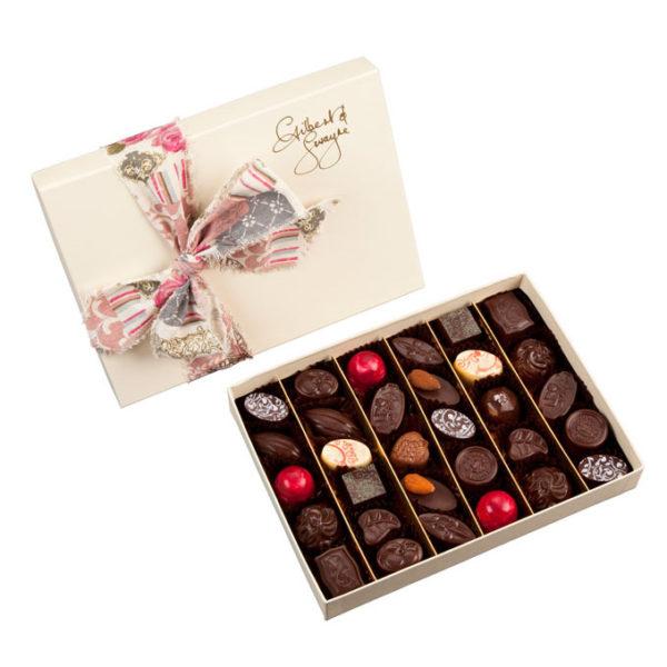 extra large box of handmade chocolates
