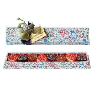 Birds Jewel long chocolate box