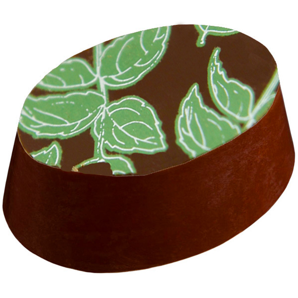 Lime  & basil chocolate from Gilbert and Swayne