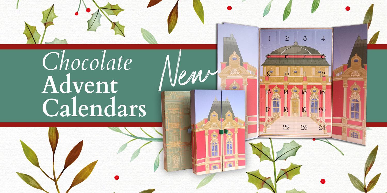 Chocolate artisan advent calendars