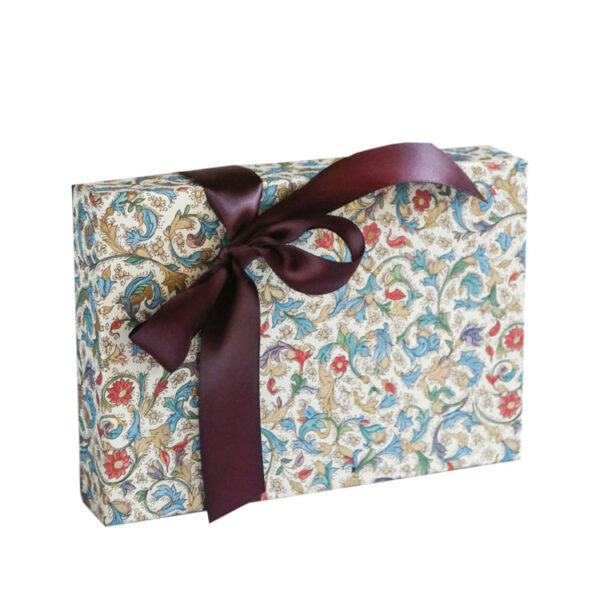Medium Box of Chocolates wrapped in Blue Italian Paper