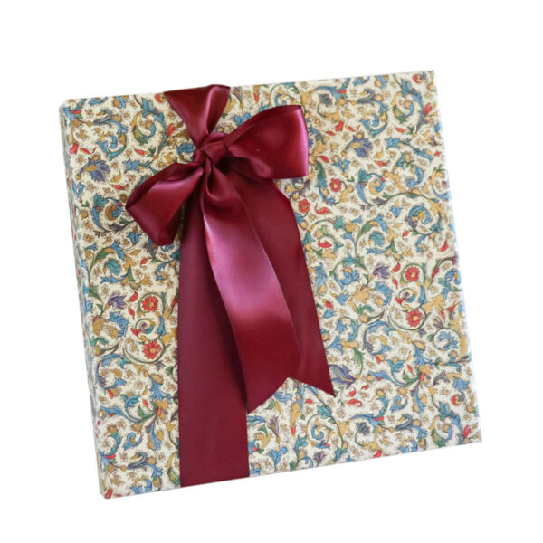 Party Box of Chocolates wrapped in Blue Italian Paper