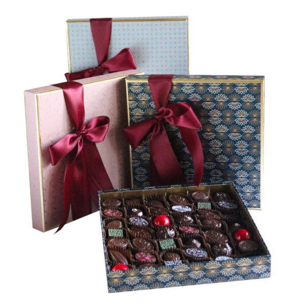Party Box of Chocolates wrapped in Luxury Paper collection