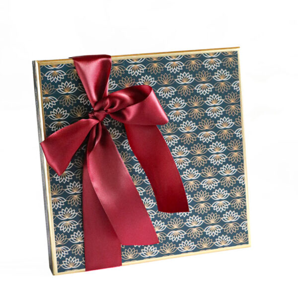 Party Box of Chocolates wrapped in Luxury Paper collection - dark Blue