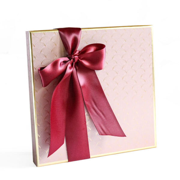 Party Box of Chocolates wrapped in Luxury Paper collection - Pink
