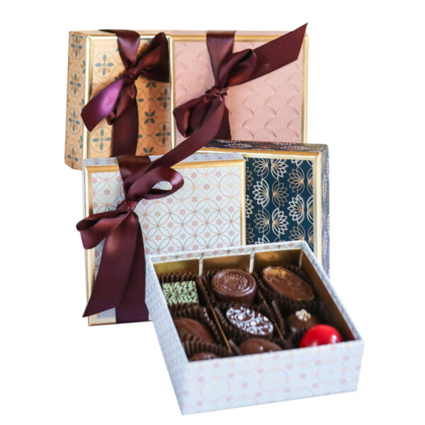 Small Box of Chocolates wrapped in Luxury Paper collection