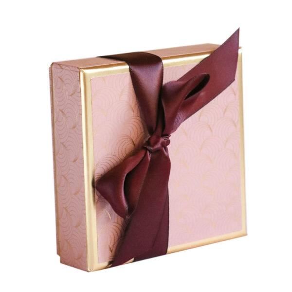Small Box of Chocolates wrapped in Luxury Paper collection - Pink